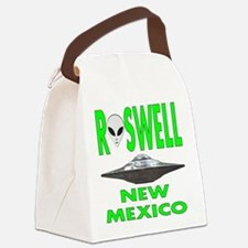 Roswell new mexico.png Canvas Lunch Bag