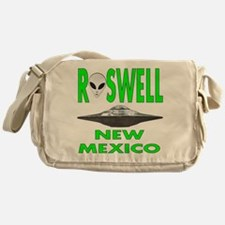 Roswell new mexico.png Messenger Bag