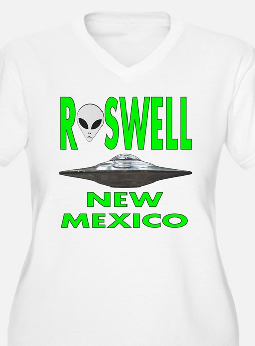 Roswell new mexico.png Plus Size T-Shirt