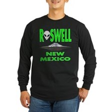 Roswell New Mexico.png Long Sleeve T-Shirt