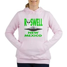 Roswell new mexico.png Women's Hooded Sweatshirt