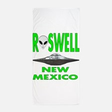 Roswell New Mexico.png Beach Towel