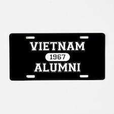 VIETNAM ALUMNI 1967 Aluminum License Plate
