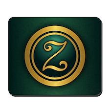 Irish Luck (Z) Mousepad
