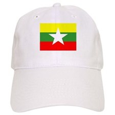 Myanmar Flag Baseball Baseball Cap