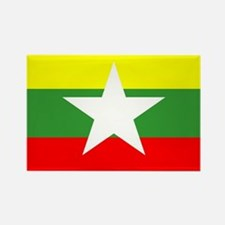 Myanmar Flag Magnets