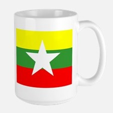 Myanmar Flag Mugs