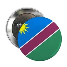 "Namibia Flag 2.25"" Button"