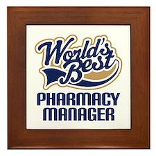 Pharmacy manager Framed Tile