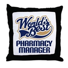 Pharmacy manager Throw Pillow