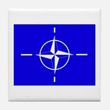 Nato Flag Tile Coaster