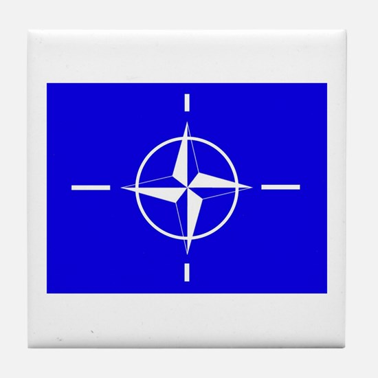 Nato Flag Tile Coaster