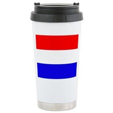 Netherlands Flag Travel Mug