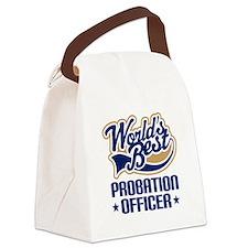 Probation officer Canvas Lunch Bag