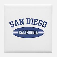 San Diego Tile Coaster