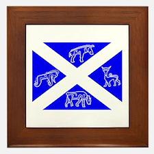 Pictish Scotland Flag #1 Framed Tile