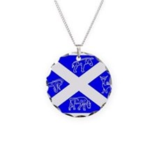 Pictish Scotland Flag #1 Necklace