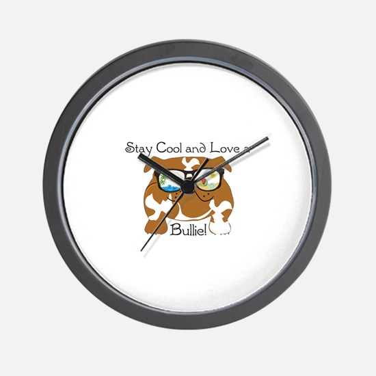 Beach Bullie Wall Clock