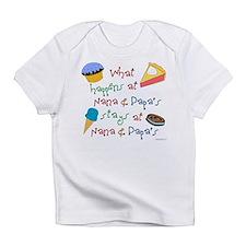 Unique Nana and papa Infant T-Shirt