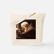 Padre Pio Tote Bag