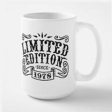 Limited Edition Since 1978 Large Mug