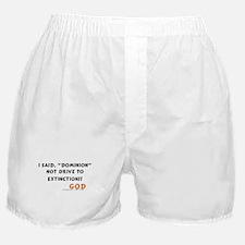 I Said Dominion Boxer Shorts