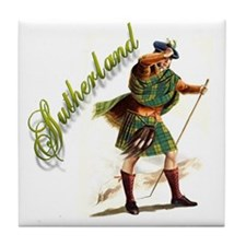 Clan Sutherland Tile Coaster
