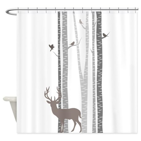 Winter Shower Curtains