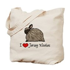I Heart Jersey Woolies Tote Bag