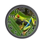 Tree Frog Photo Wall Clock