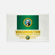 Washington Flag (v15) Magnets