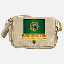 Washington Flag (v15) Messenger Bag