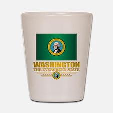 Washington Flag (v15) Shot Glass