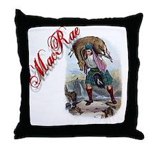 Clan MacRae Throw Pillow