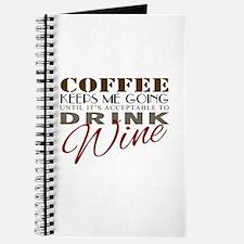 Coffee keeps me going Journal