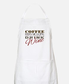Coffee keeps me going Apron