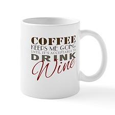 Coffee keeps me going Mugs