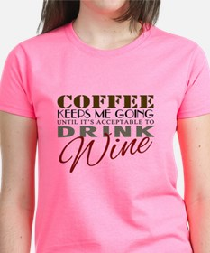 Coffee keeps me going T-Shirt