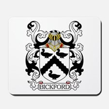 Bickford Family Crest Mousepad