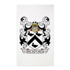Bickford Family Crest 3'x5' Area Rug
