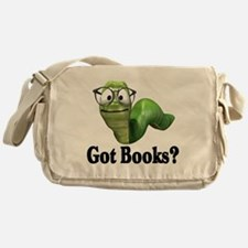 Got books? T-shirts and gifts. Messenger Bag