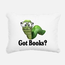 Got books? T-shirts and gifts. Rectangular Canvas