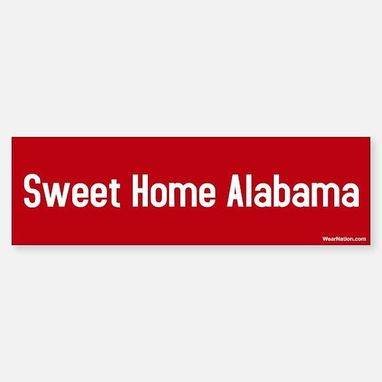 Sweet Home Alabama Bumper Bumper Bumper Sticker