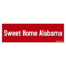 Sweet Home Alabama Bumper Car Car Sticker