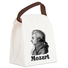 Mozart T-shirts and gifts. Canvas Lunch Bag