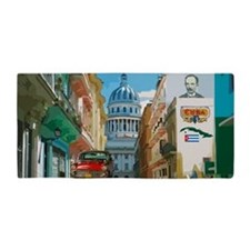 Cuba Art Design 1 Beach Towel