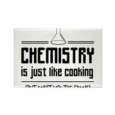 chemistry is like cooking Magnets