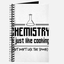 chemistry is like cooking Journal