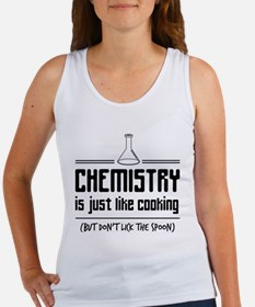 chemistry is like cooking Tank Top