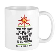 Scripture Mug. From The Rising Of Sun Mugs
